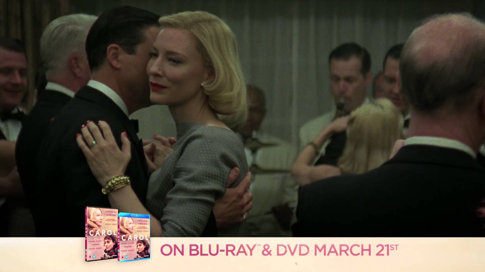 "CAROL – 20"" TV spot – On Blu-ray & DVD March 21st"