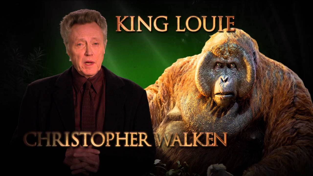 Christopher Walken is King Louie – Disney's The Jungle Book