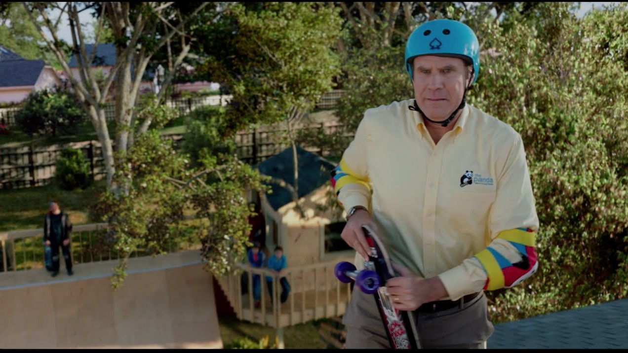 """Daddy's Home (2015) – """"Skateboarding"""" Clip – Paramount Pictures"""