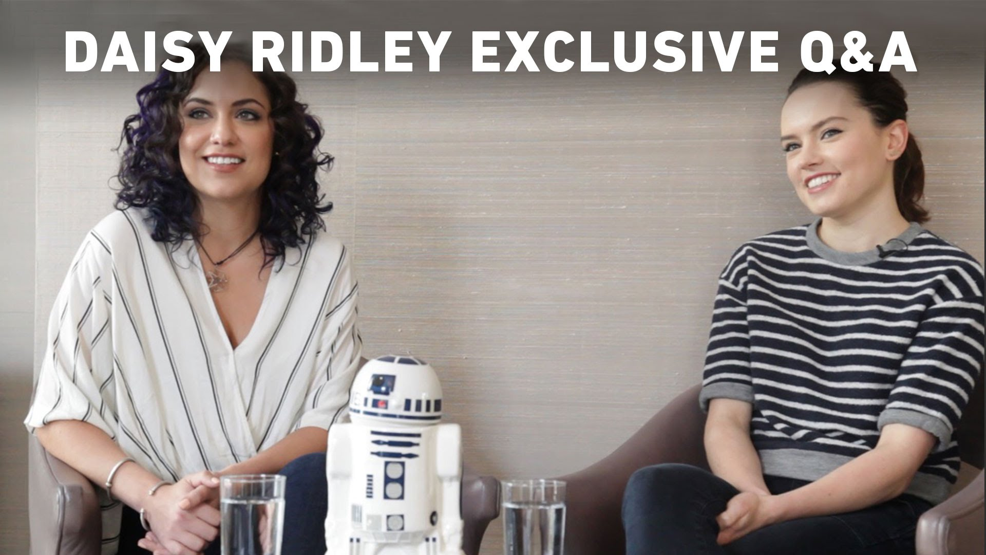 Daisy Ridley Exclusive Q & A