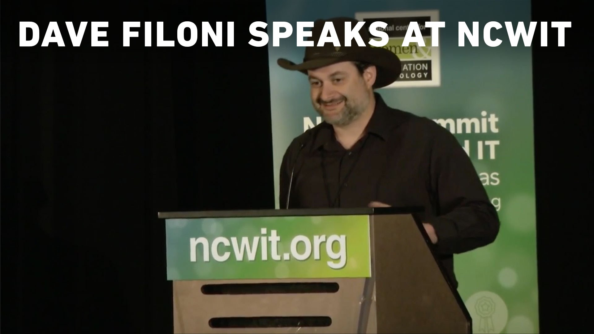 Dave Filoni Speaks at the National Center for Women & Information Technology
