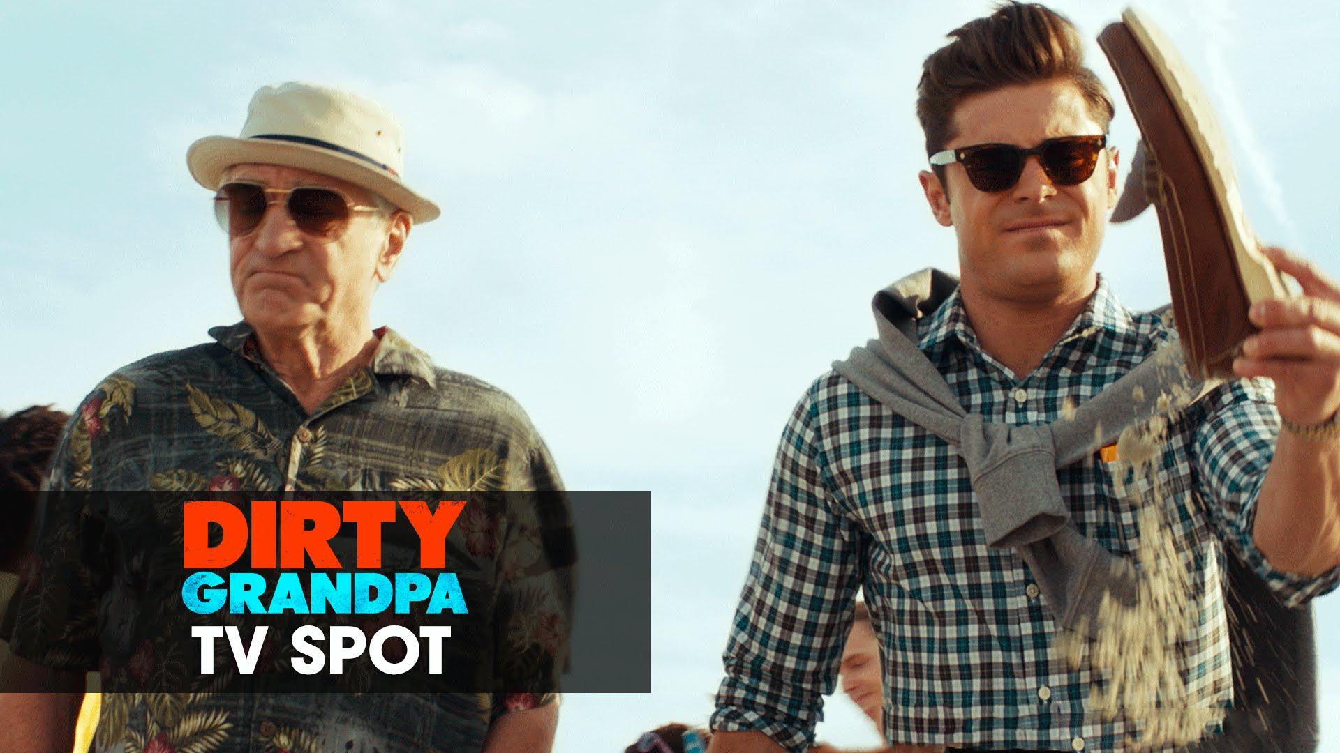 "Dirty Grandpa (2016 Movie – Zac Efron, Robert De Niro) Official TV Spot – ""Road Trip"""