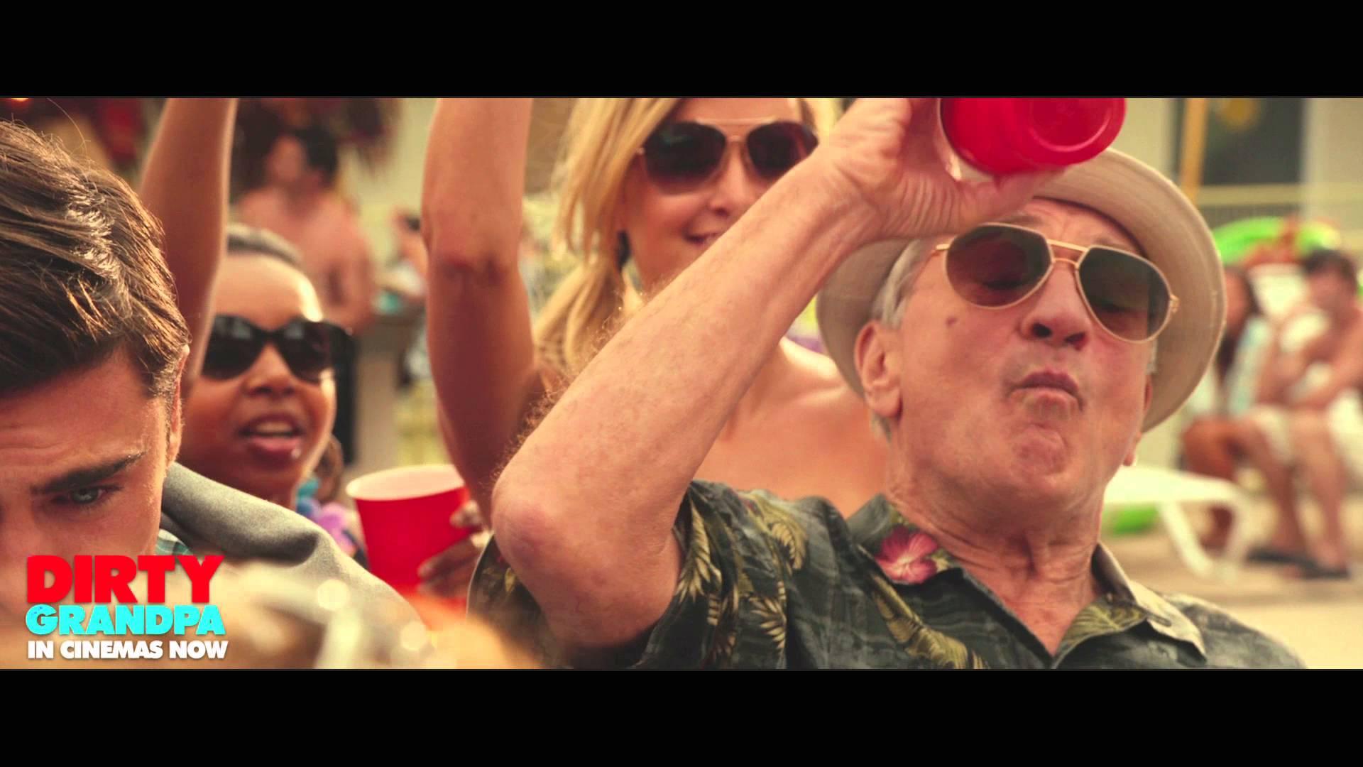 """Dirty Grandpa – Clip """"Celebrate"""" – in cinemas Jan 29"""