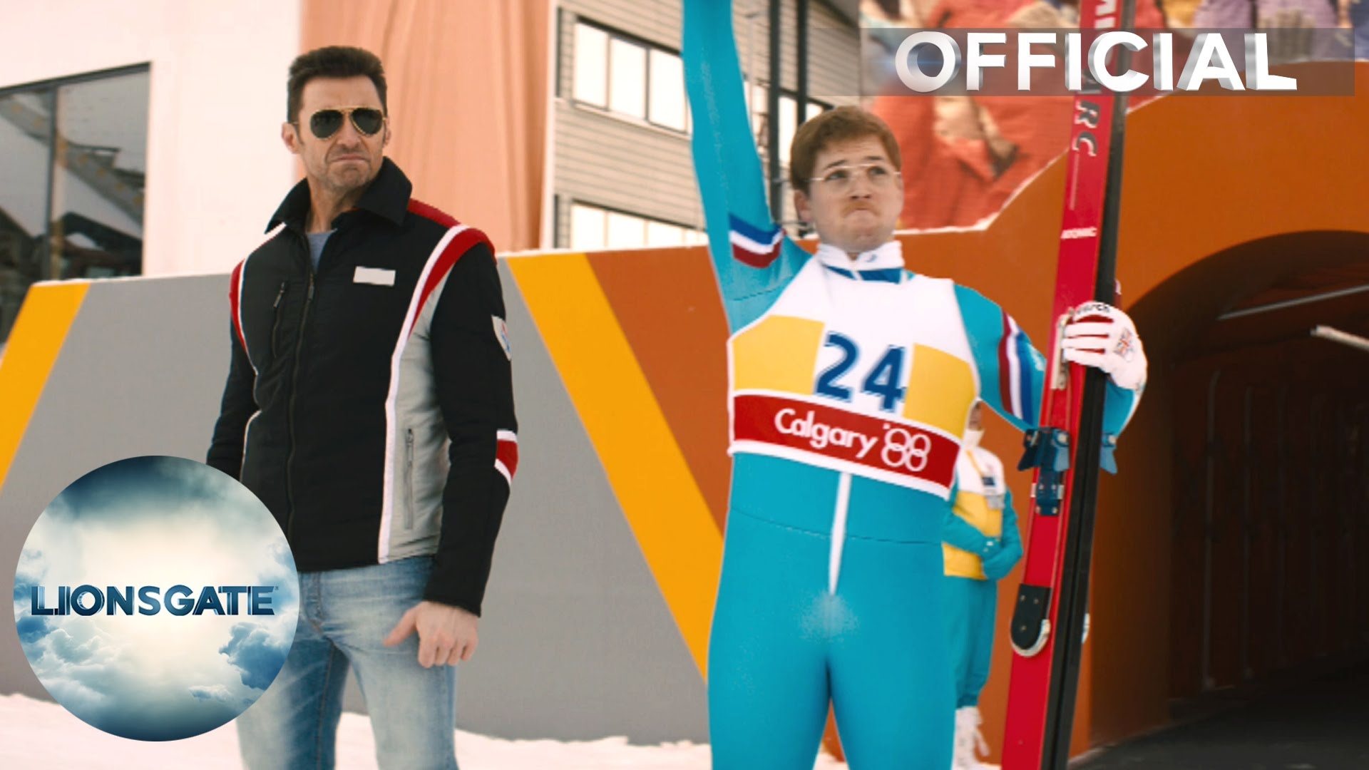 Eddie The Eagle – UK & IRL Teaser Trailer – In Cinemas 1st April 2016