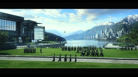 """ENDER'S GAME – """"Building Ender's World"""" – Exclusive VFX Preview"""