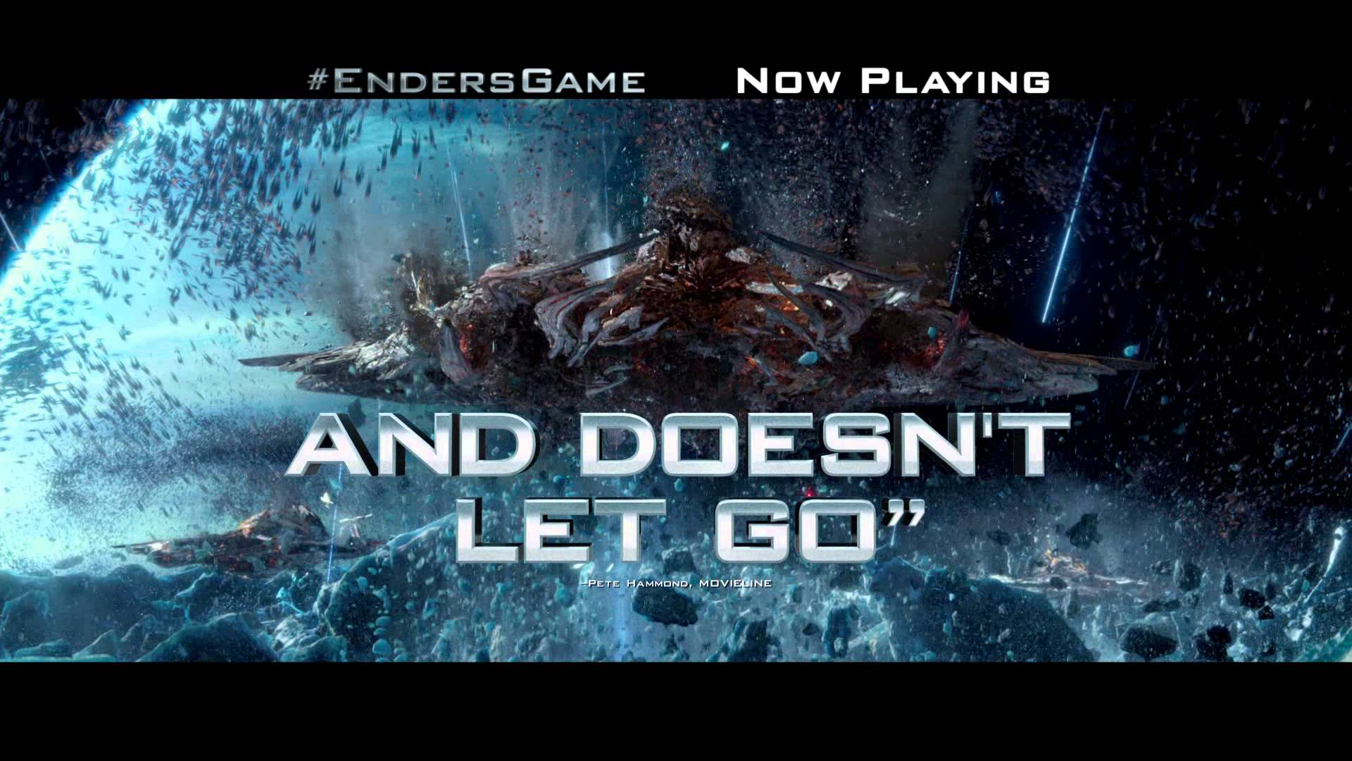 """ENDER'S GAME NOW IN THEATERS  – """"Grip"""" – 2013 – Official Commercial"""