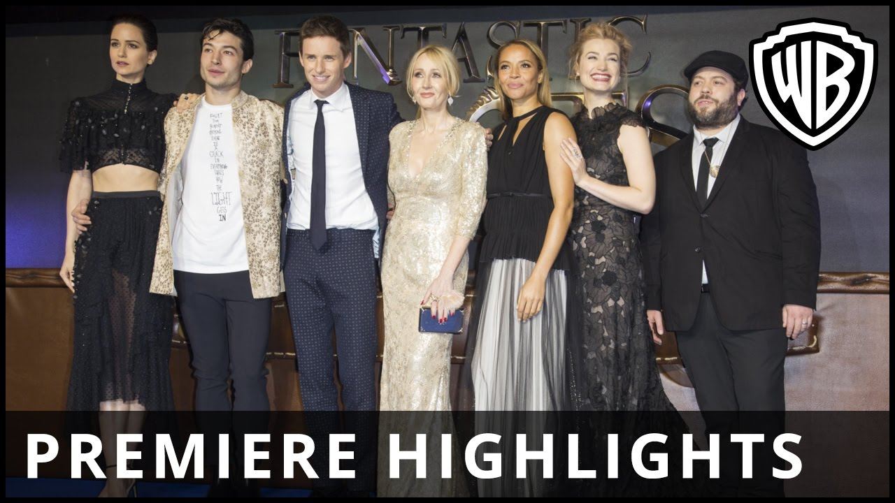 Fantastic Beasts and Where to Find Them – Premiere Highlights