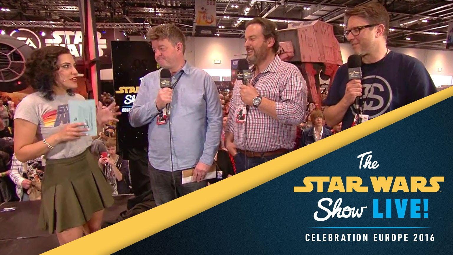 Force Awakens Costumers Interview | Star Wars Celebration Europe 2016