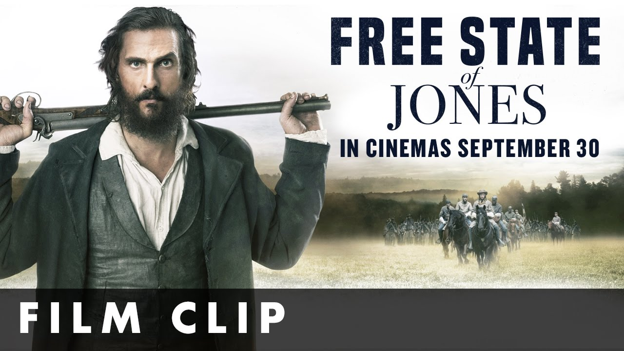 Free State Of Jones – Official Clip #1 – In cinemas September 30th