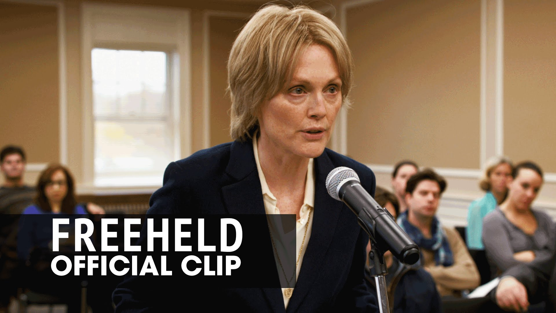 "Freeheld (2015 Movie – Julianne Moore, Ellen Page) Official Clip – ""Equality"""