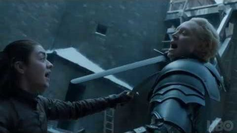 Game of Thrones: Season 7 Episode 4: Brienne and Arya
