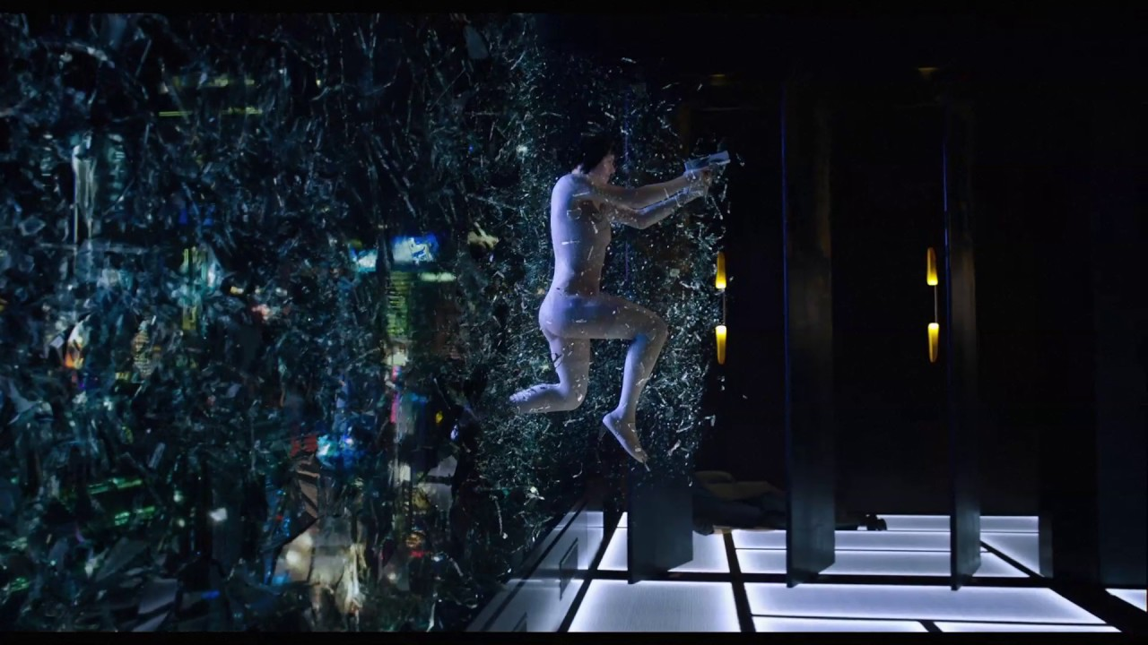 Ghost In The Shell | Glass Breaking | Paramount Pictures UK