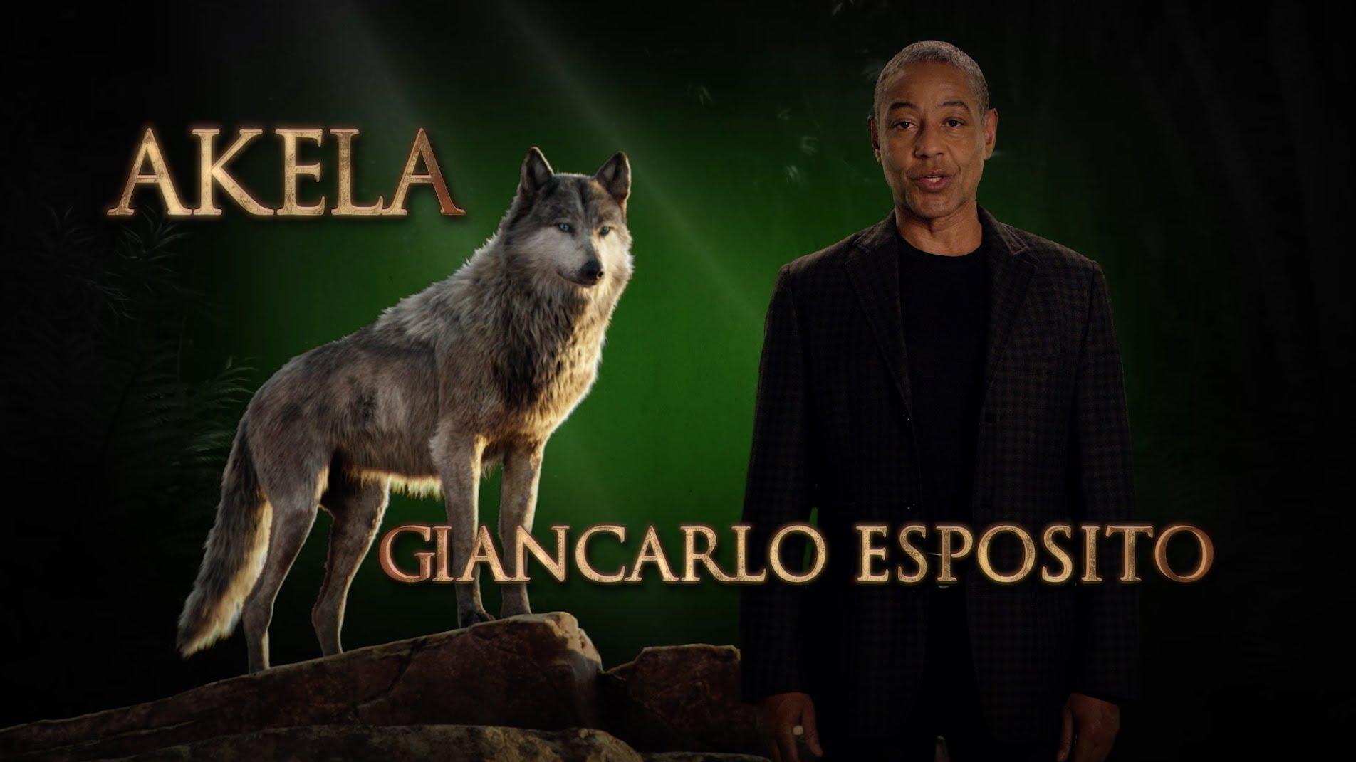 Giancarlo Esposito is Akela – Disney's The Jungle Book