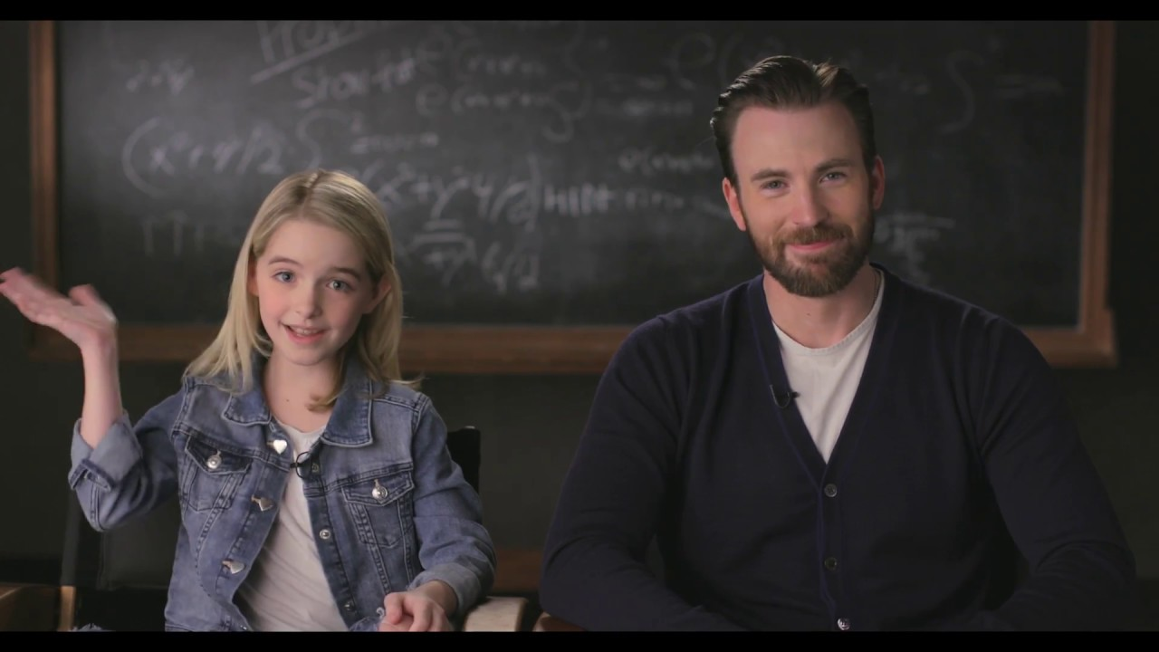 """GIFTED Movie Moment """"Kitchen"""" – Introduction by Chris Evans & Mckenna Grace"""
