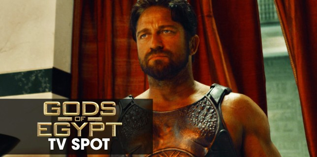 "Gods of Egypt (2016 Movie – Gerard Butler) Official TV Spot – ""God vs. God"""