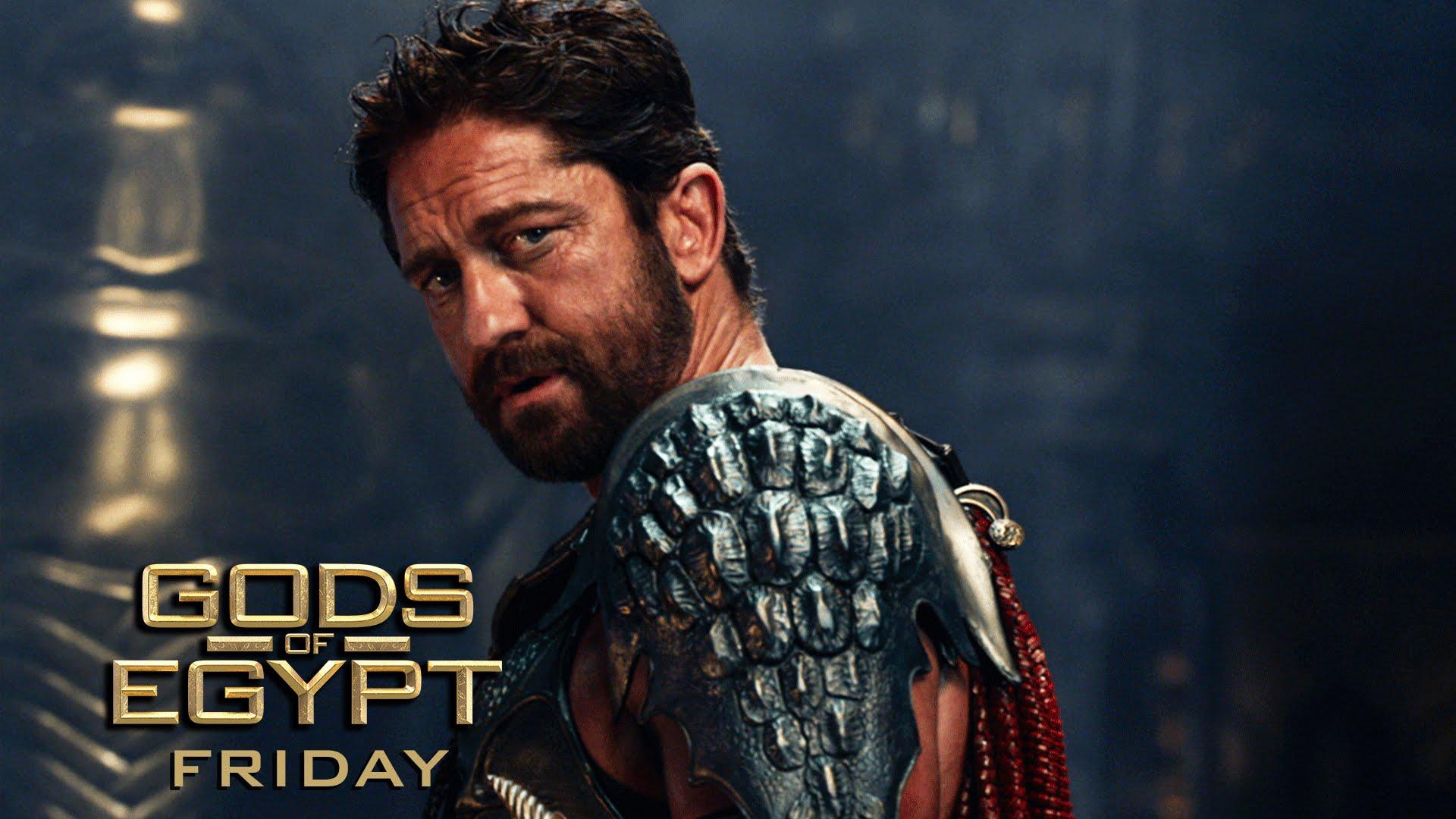"""Gods of Egypt (2016 Movie – Gerard Butler) Official TV Spot – """"God vs. God"""""""