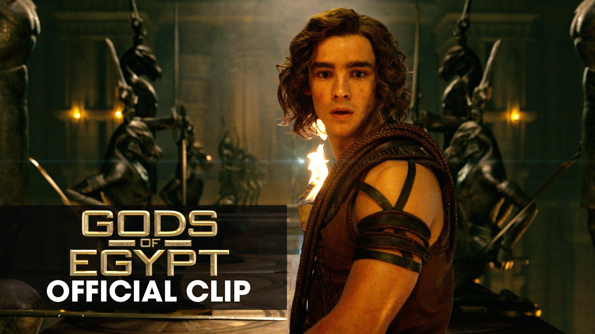 "Gods of Egypt (2016 Movie – Gerard Butler) Official Clip – ""The Eye"""