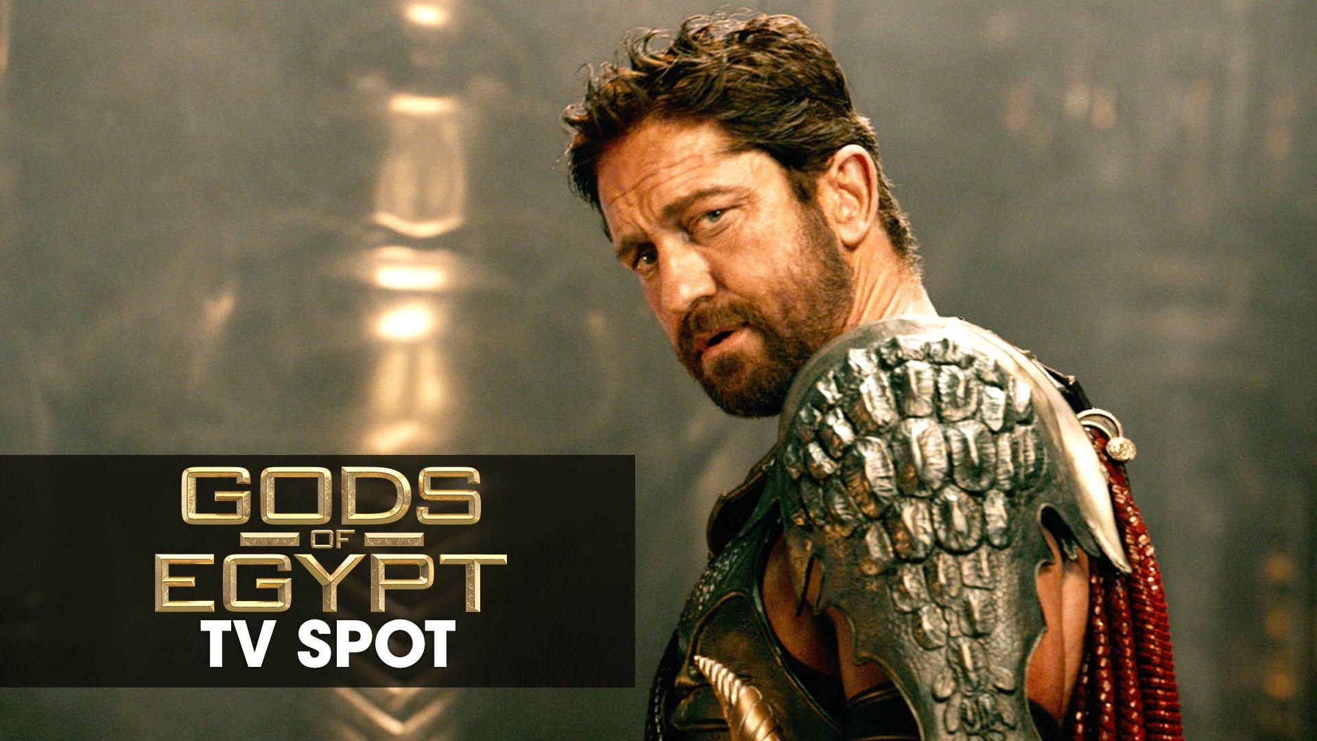 """Gods of Egypt (2016 Movie – Gerard Butler) Official TV Spot – """"Non-Stop"""""""