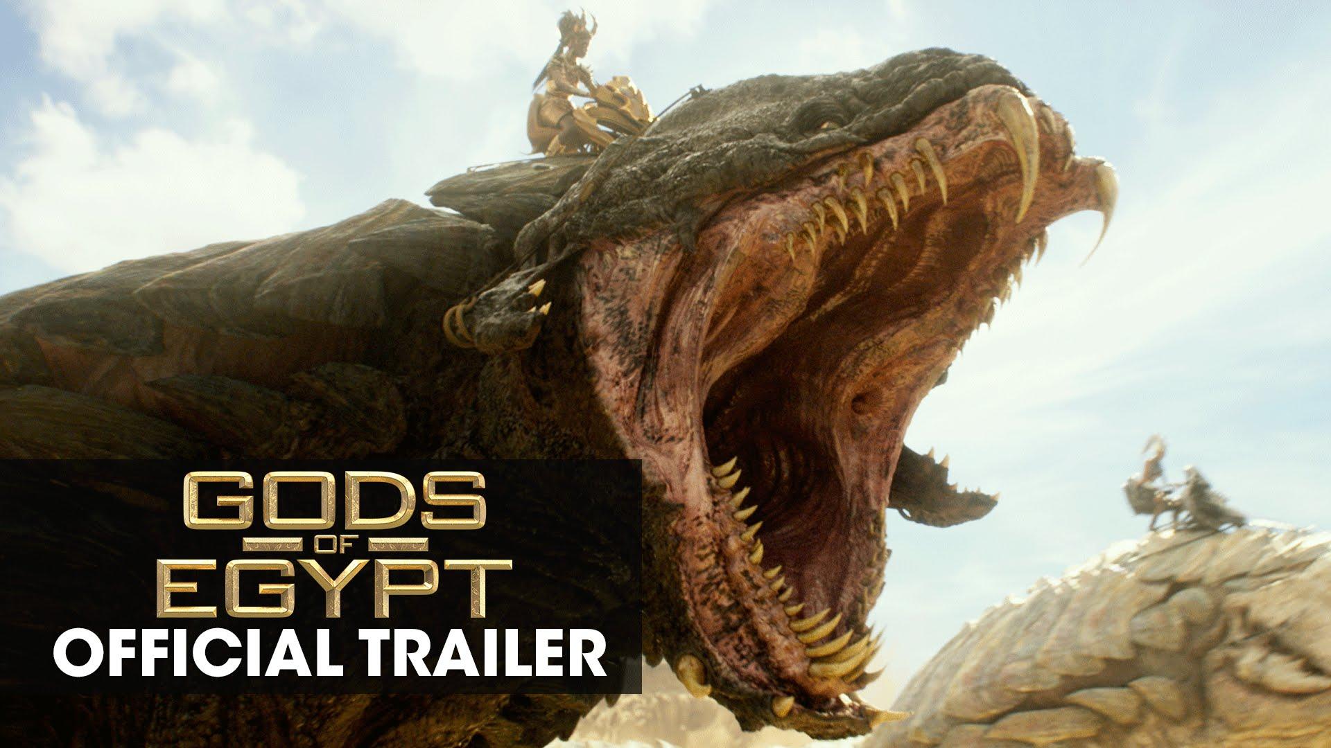 "Gods of Egypt (2016 Movie – Gerard Butler) Official Trailer – ""Battle For Mankind"""