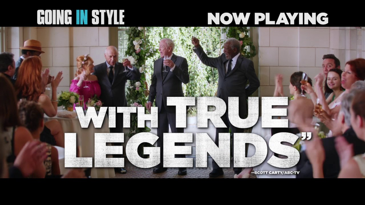"""Going In Style – """"Instant Classic/Stunning Review"""" TV Spot"""