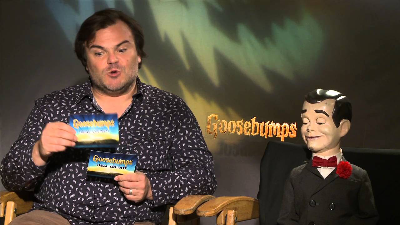 Goosebumps – Real or Not Game with Jack Black & Slappy!