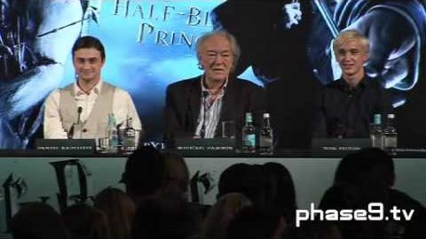 Harry Potter and the Half-Blood Prince – London Press Conference – Part 8 of 10