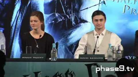 Harry Potter and the Half-Blood Prince – London Press Conference – Part 6 of 10