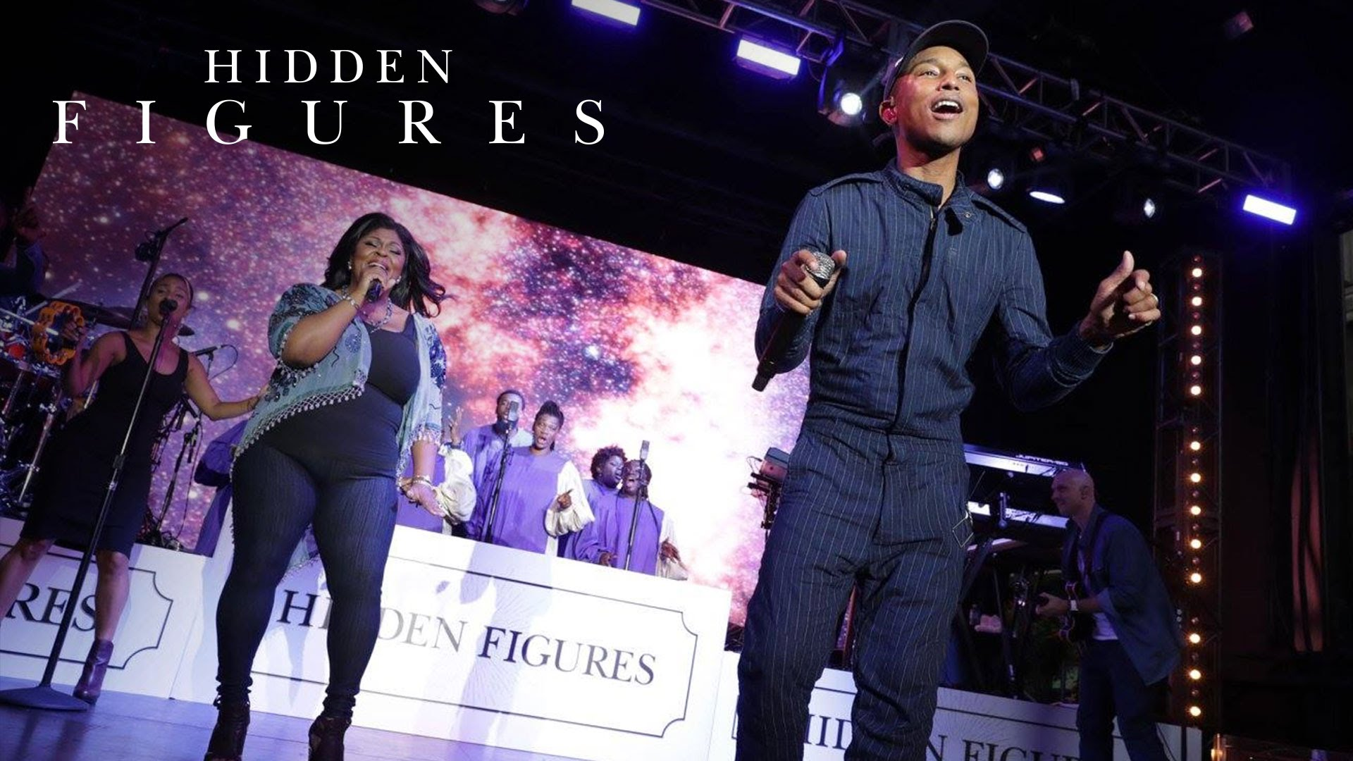 "Hidden Figures | ""I See A Victory"" Performed LIVE By Kim Burrell & Pharrell Williams"