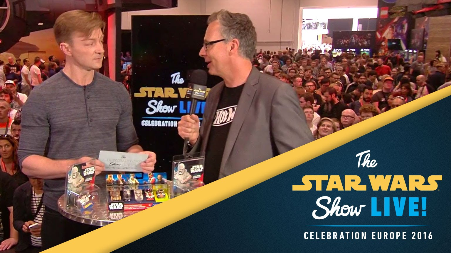 Hot Wheels Interview | Star Wars Celebration Europe 2016