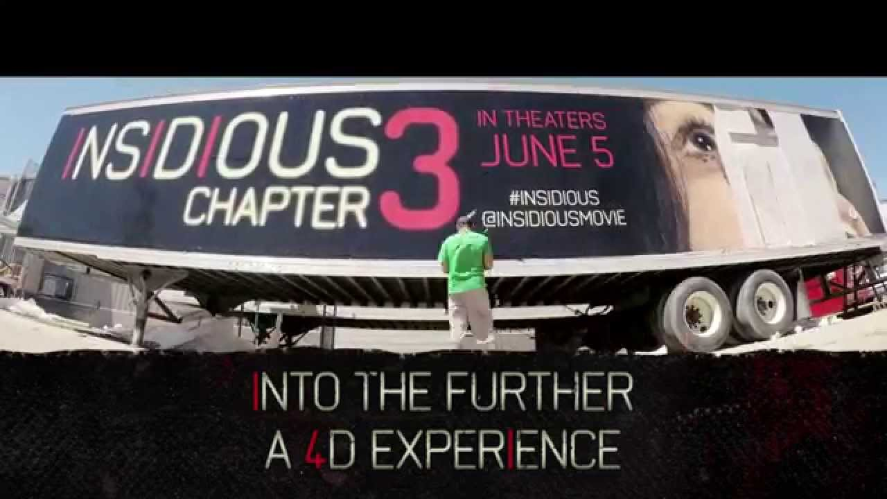 INSIDIOUS: CHAPTER 3 – Into The Further 4D Experience
