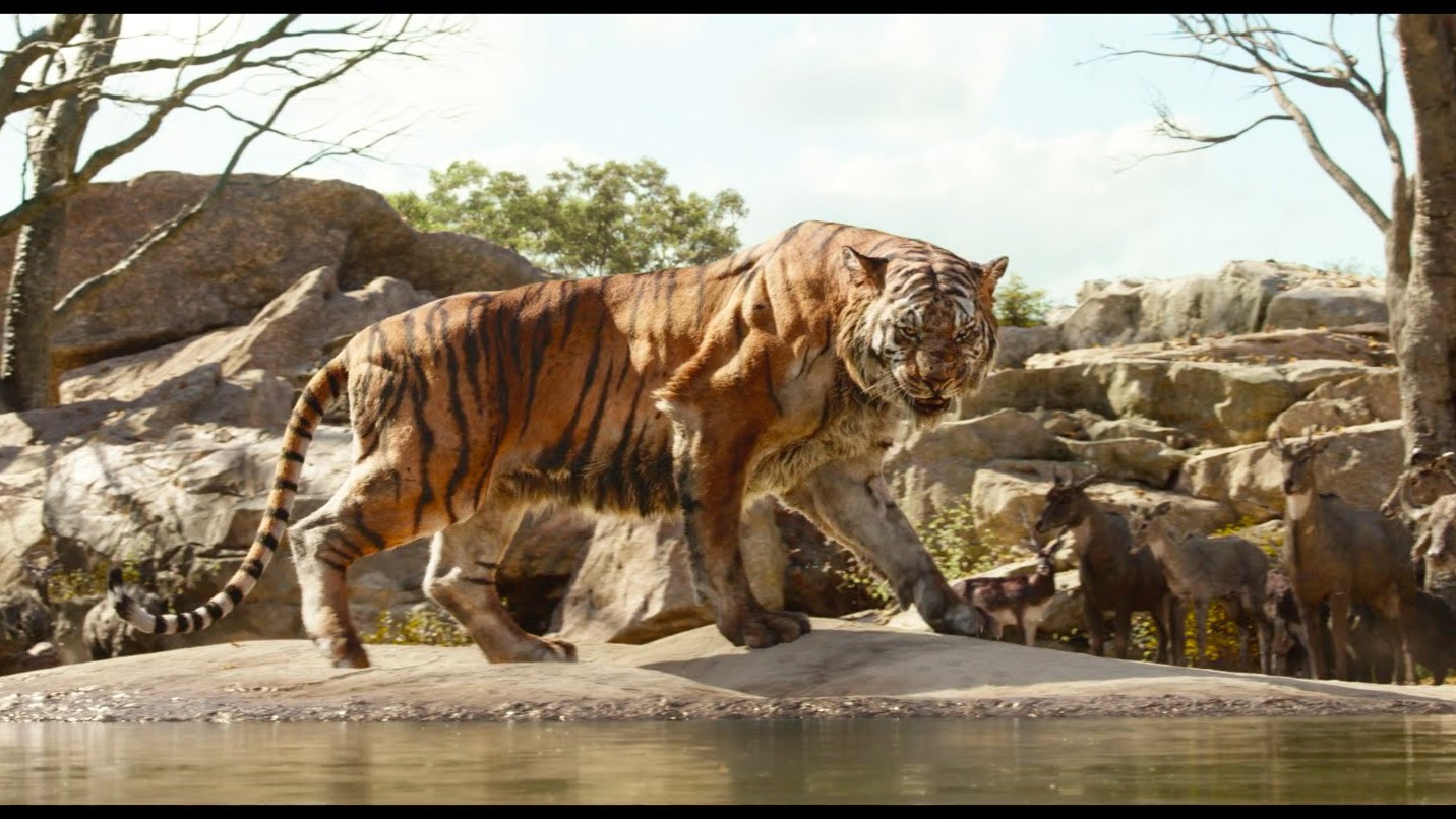 """""""Intro to Shere Khan"""" Clip – Disney's The Jungle Book"""