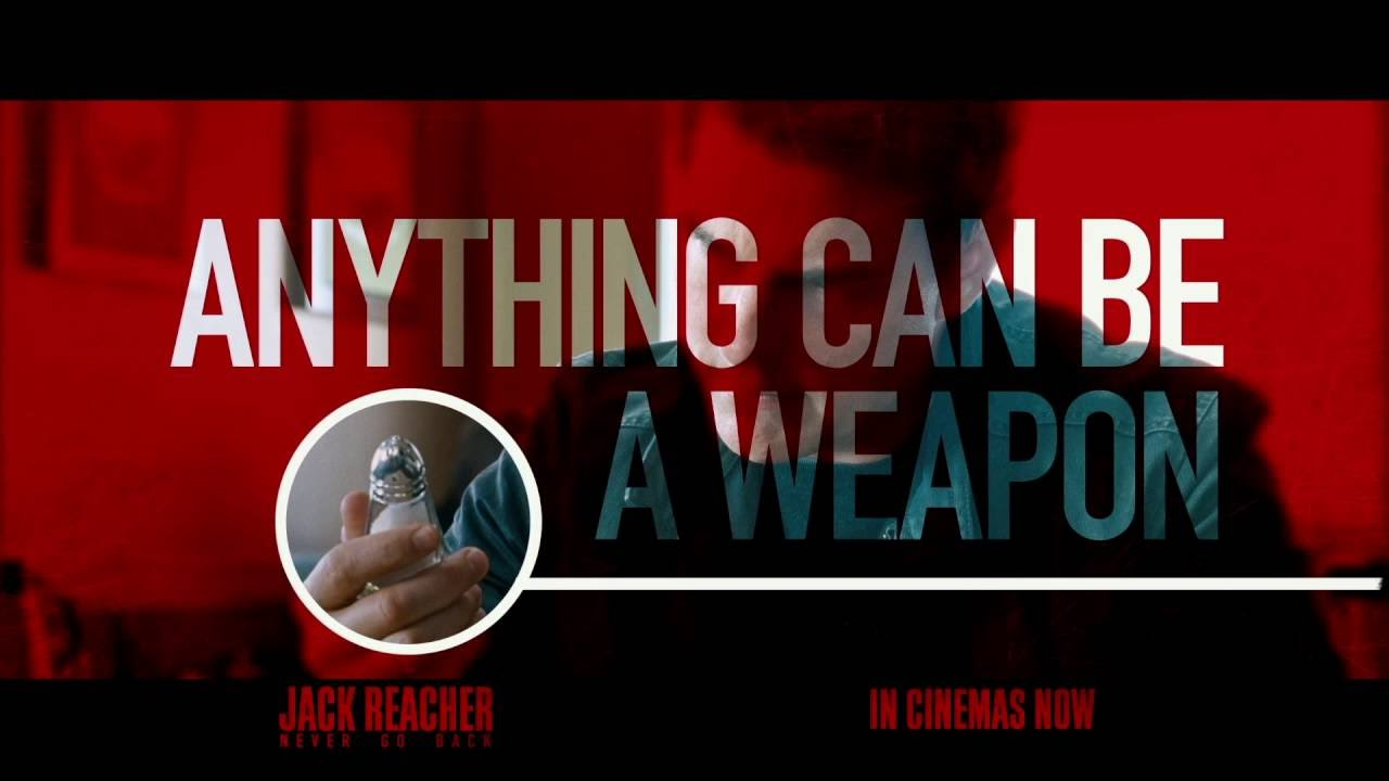 Jack Reacher: Never Go Back | Reacher Rules: Salt Shaker | Paramount Pictures Ireland