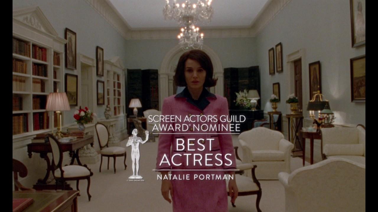 JACKIE | TV SPOT | Golden Globe SAG Nominee