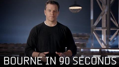 "Jason Bourne – Featurette: ""Bourne In 90 Seconds"" (HD)"
