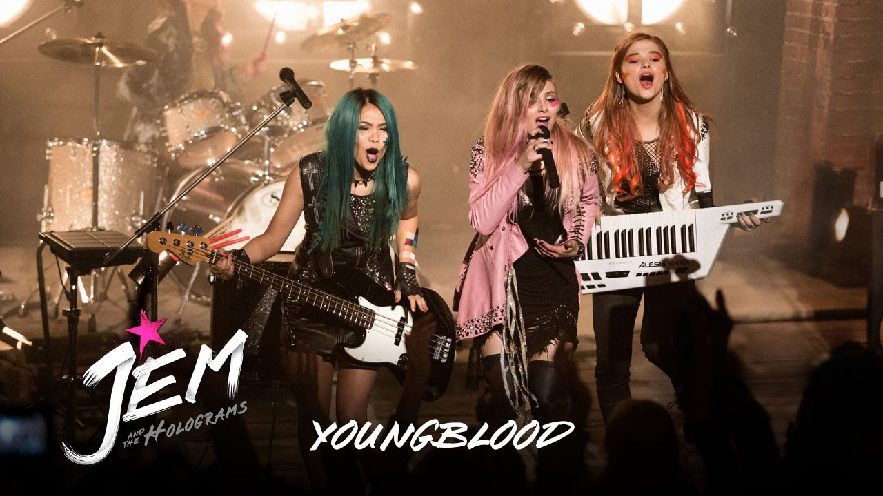 Jem And The Holograms – Music Clip: Youngblood (HD)