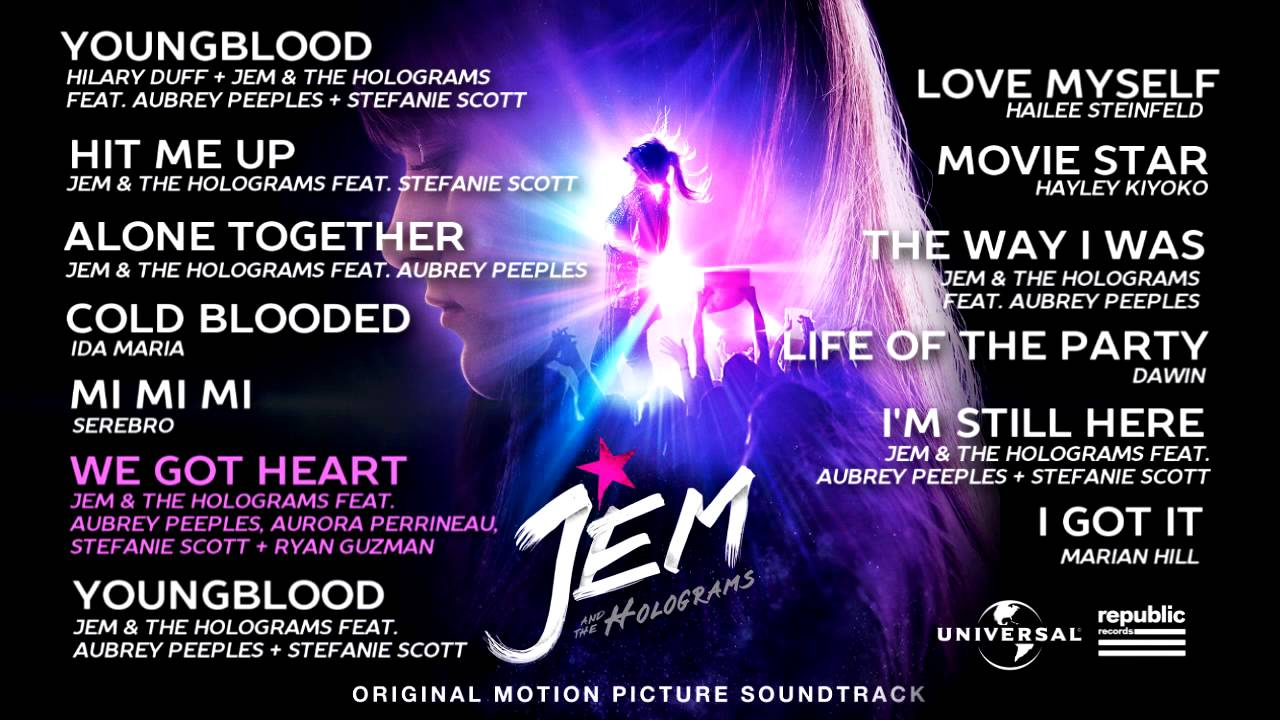 Jem And The Holograms – Original Motion Picture Soundtrack Sampler