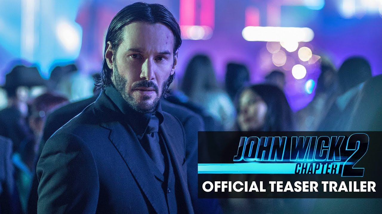 John Wick: Chapter 2 (2017 Movie) Official Teaser Trailer – 'Good To See You Again'