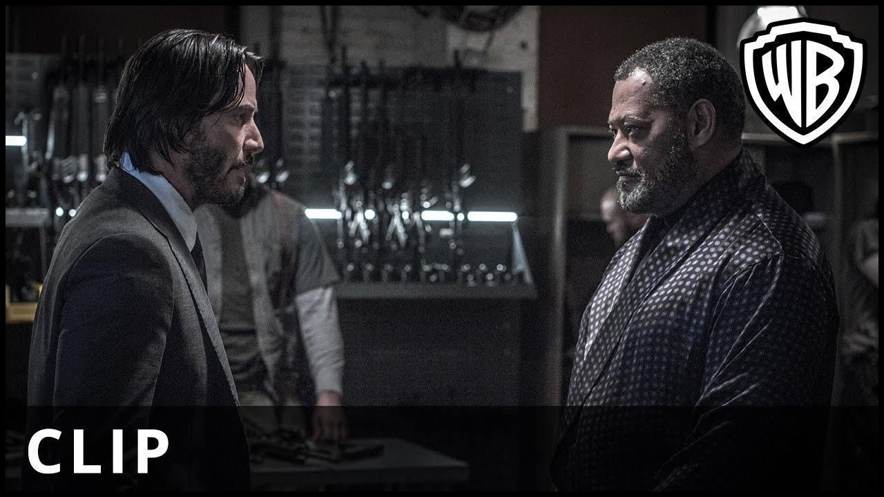 "John Wick: Chapter 2 – ""Gun"" Clip – Warner Bros. UK"