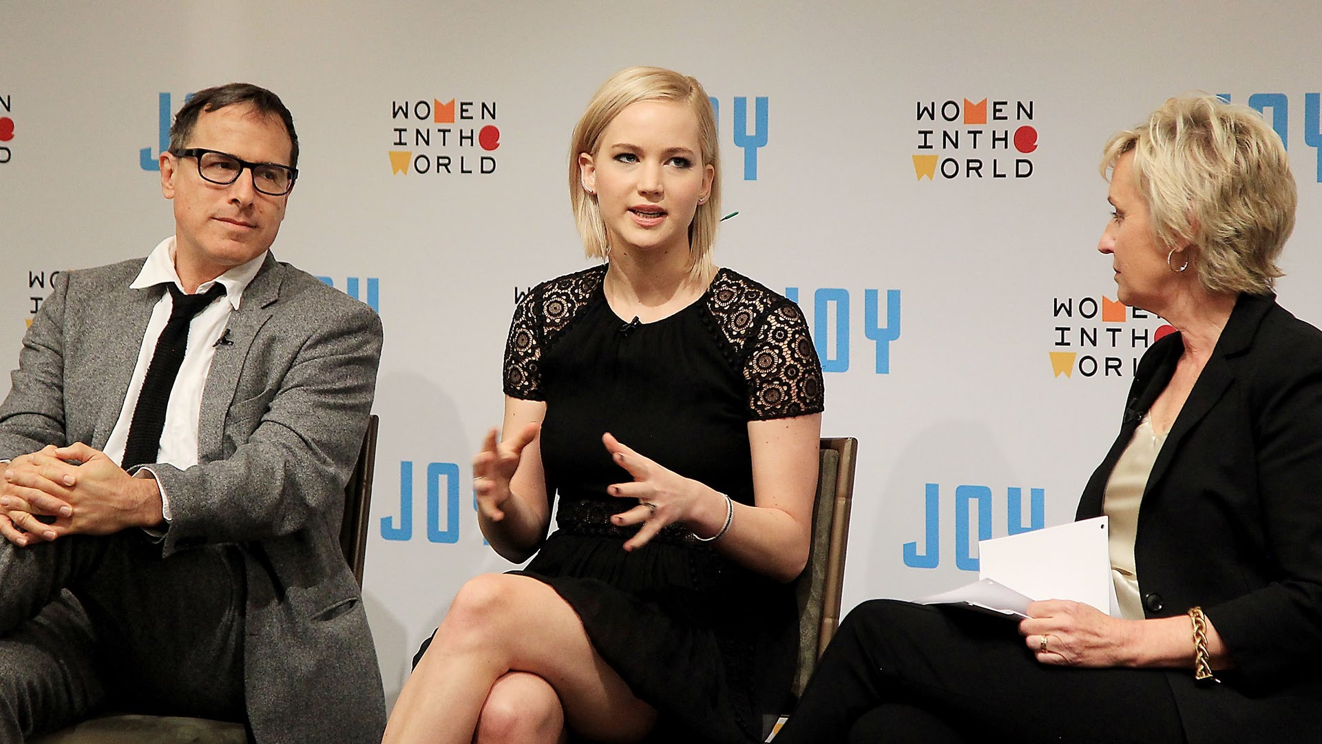 JOY | Women In The World Conversation with David O. Russell & Jennifer Lawrence