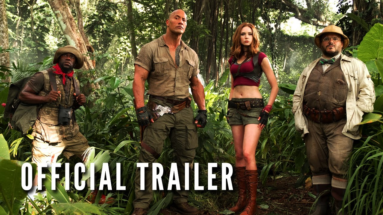 JUMANJI: WELCOME TO THE JUNGLE – Official Trailer (HD)