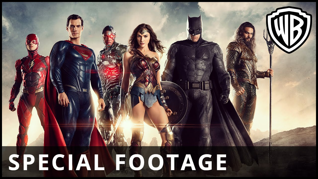 Justice League – Special Comic-Con Footage – Official Warner Bros. UK