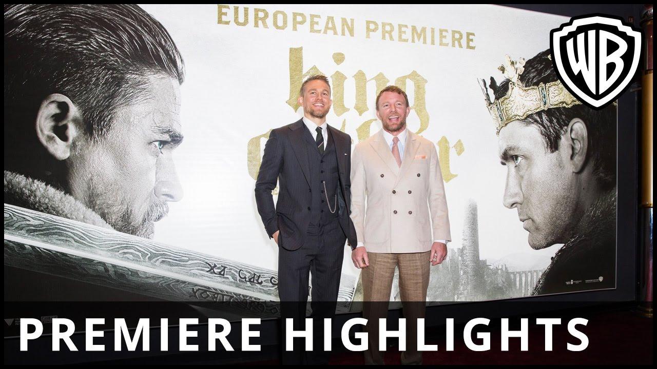 King Arthur: Legend of the Sword – European Premiere Highlights – Warner Bros. UK