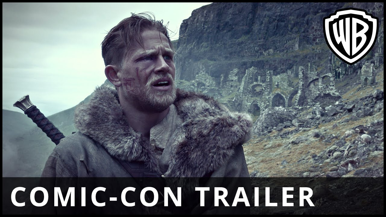 King Arthur: Legend of the Sword – Comic-Con Trailer – Official Warner Bros. UK