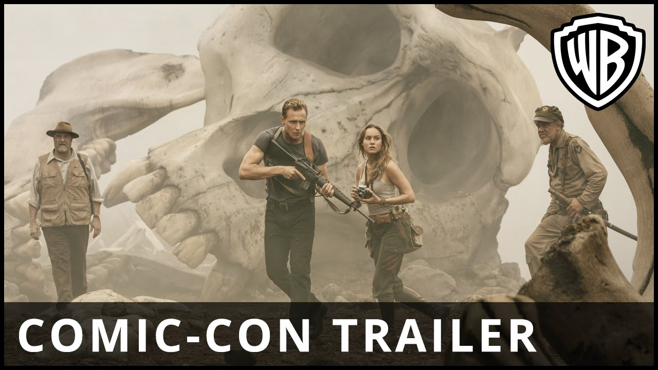 Kong: Skull Island – Comic-Con Trailer – Official Warner Bros. UK