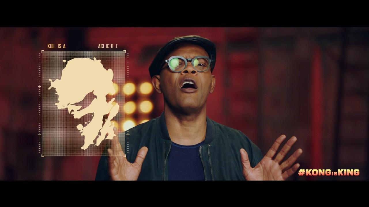 """KONG: SKULL ISLAND – """"Where is Skull Island?"""" ft. Samuel L. Jackson"""