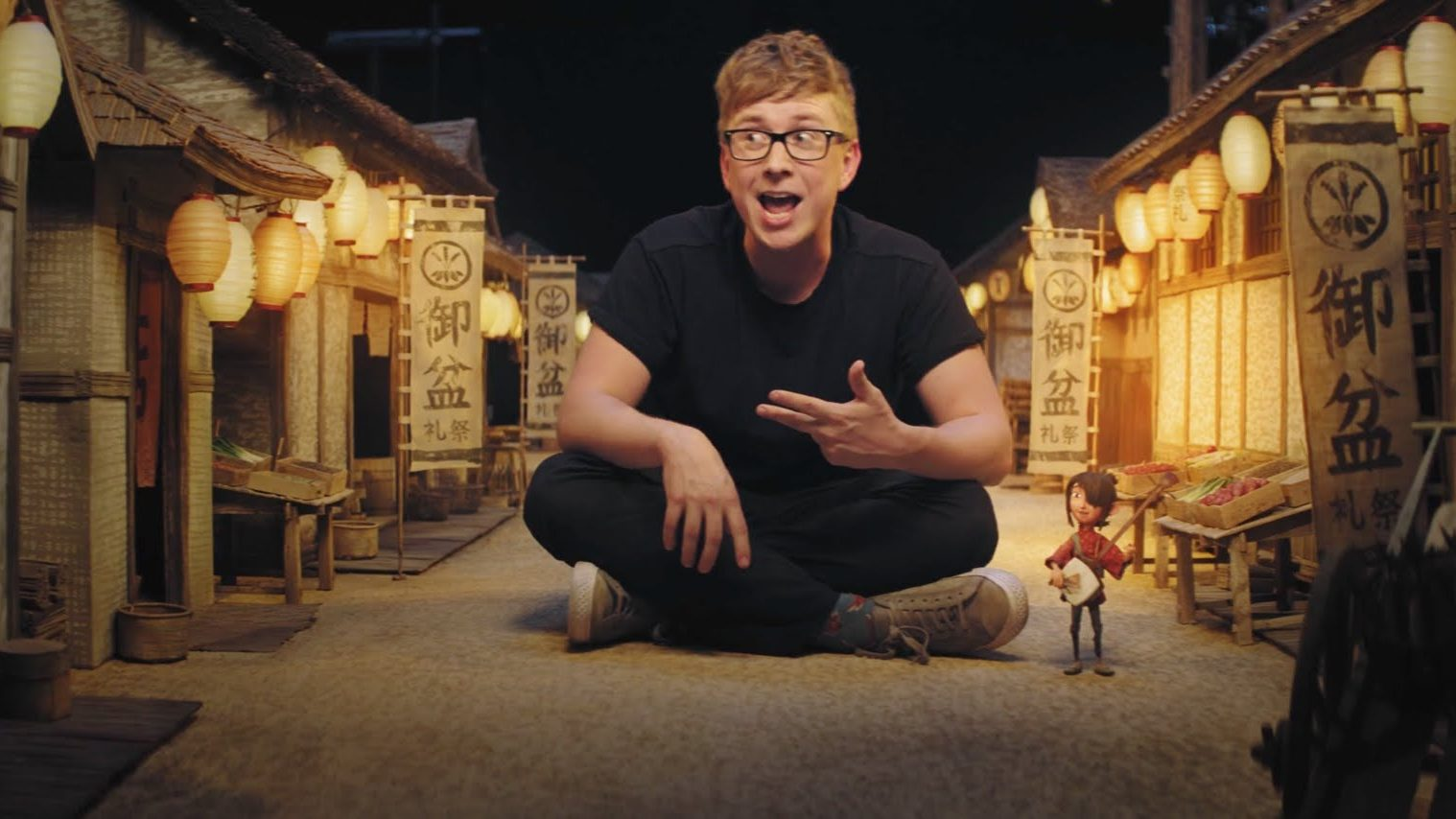 KUBO AND THE TWO STRINGS – Tyler Oakley Visits Laika
