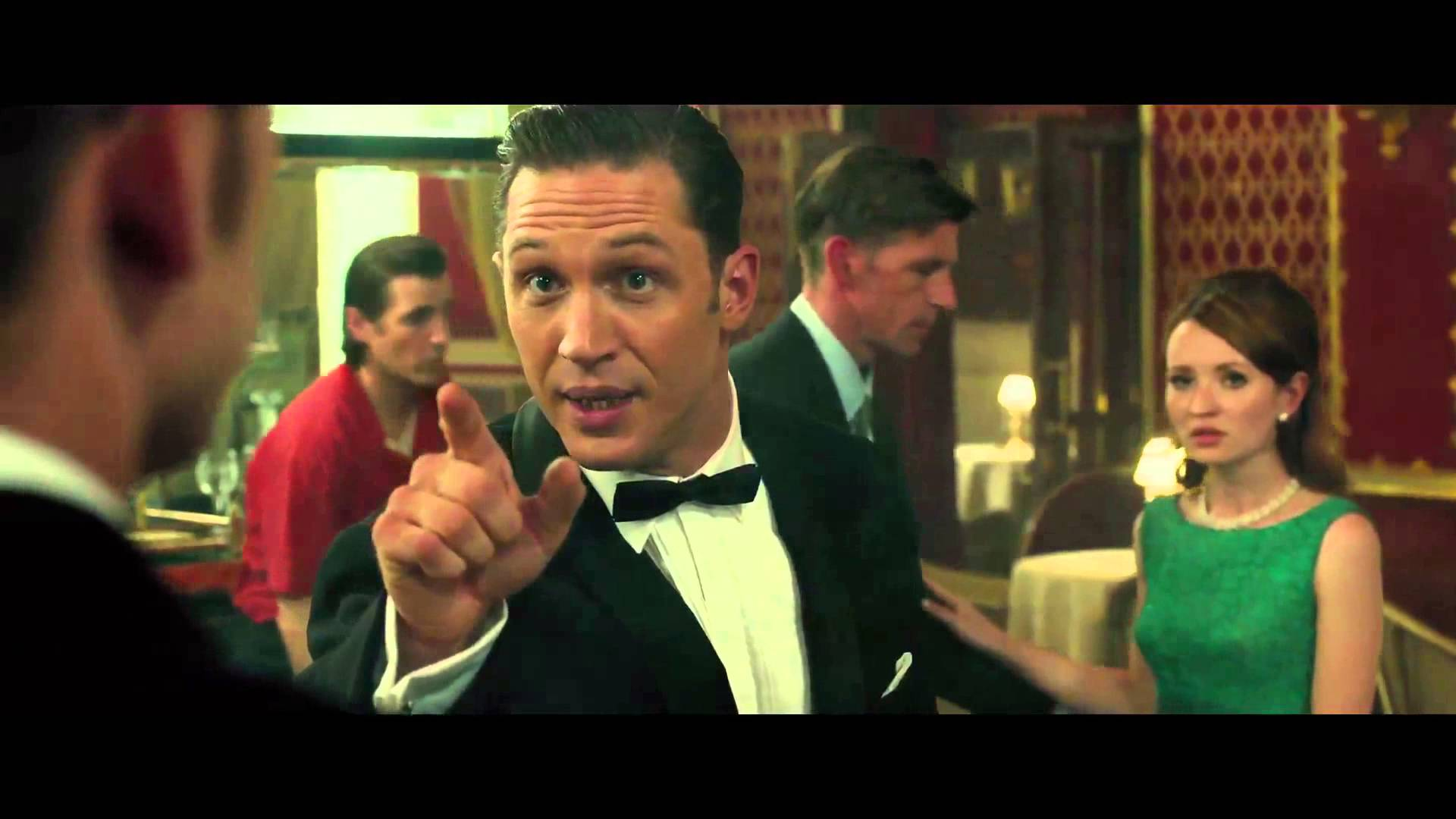 LEGEND – TOM HARDY PLAYS THE KRAY TWINS