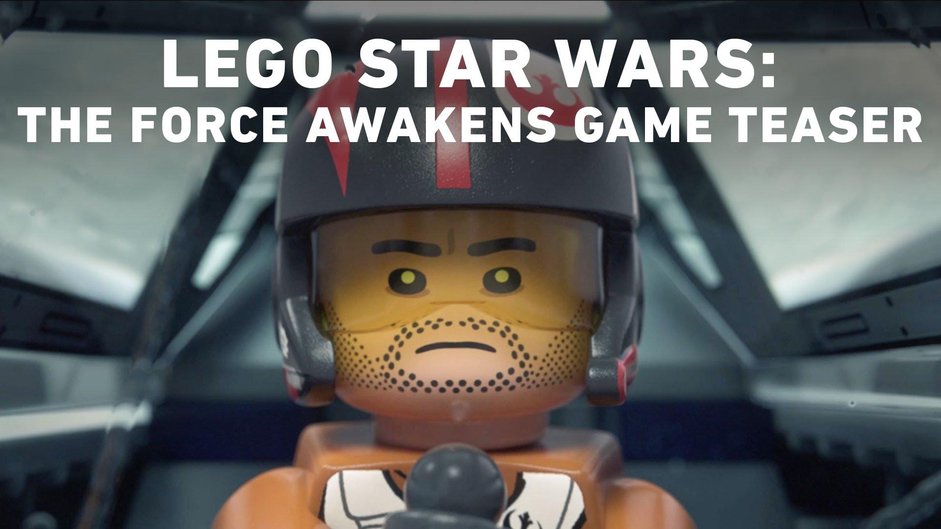 LEGO Star Wars: The Force Awakens Video Game – Announce Teaser Trailer