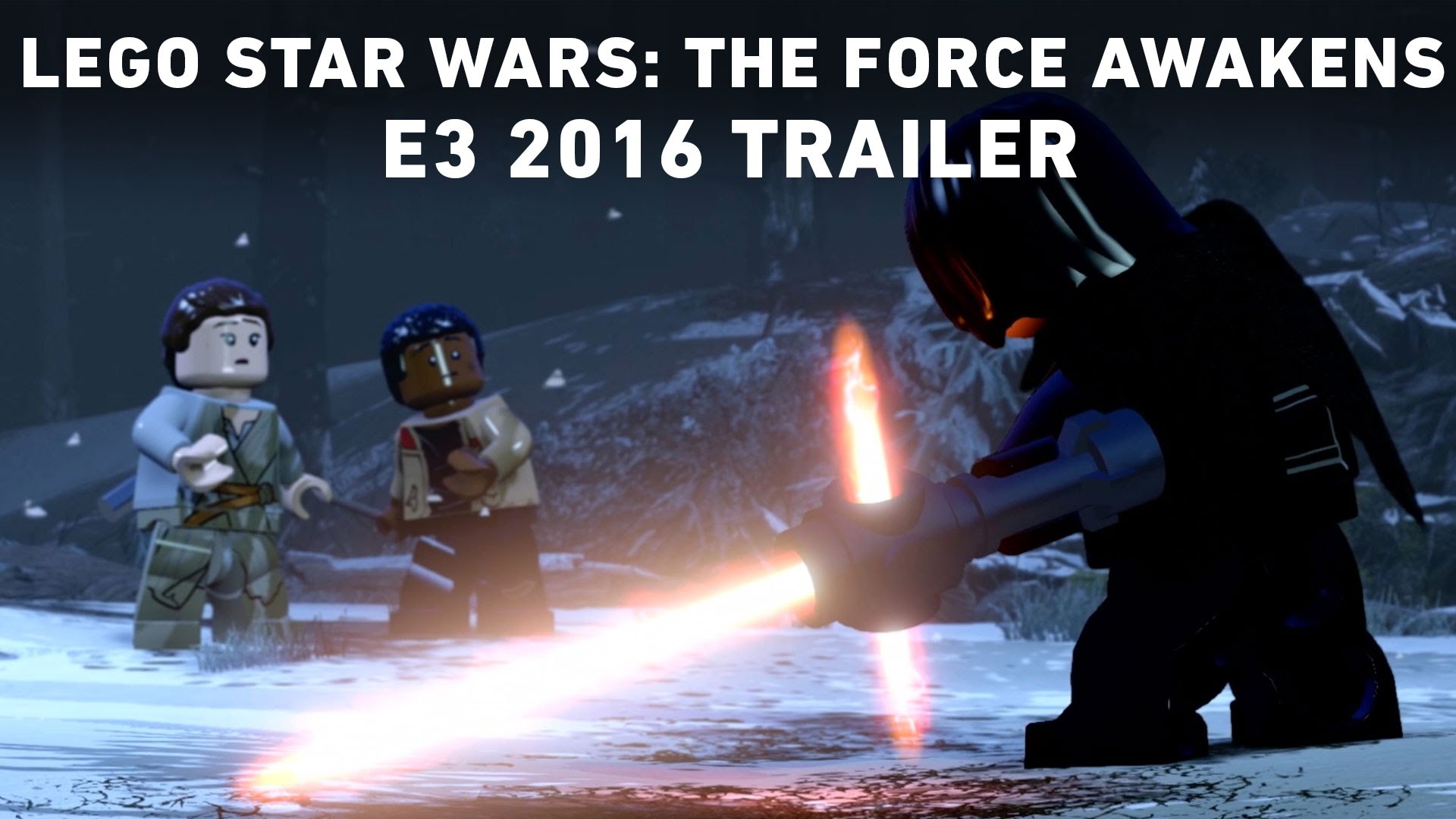 LEGO Star Wars: The Force Awakens E3 2016 Trailer