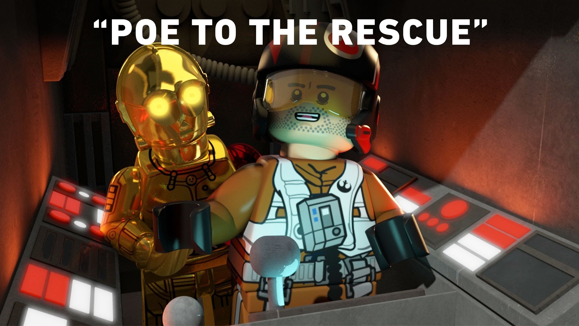 LEGO Star Wars: The Resistance Rises – Poe to the Rescue
